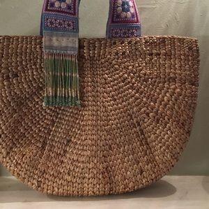 Handbags - Boho Straw Bag